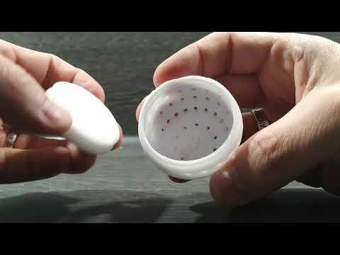 Binnenmeer.de: Handling Futter-Ei (zuschrauben, aufschrauben, Magnet)