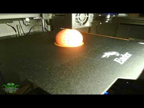 Binnenmeer.de: Futter-Ei und Sockel - 3D Druck Timelapse Video
